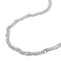 Chains up to 36cm/14.2in Silver 925