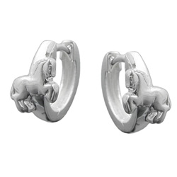 Leverback earrings for kids Silver 925