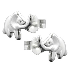 Studs with Animals, Silver 925