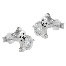 Earrings for kids Silver 925