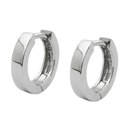 Hoop earrings for men Silver 925