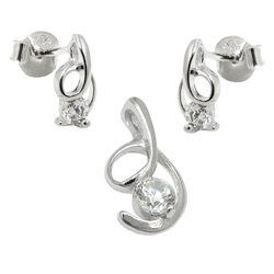 Jewellery Sets, Silver 925