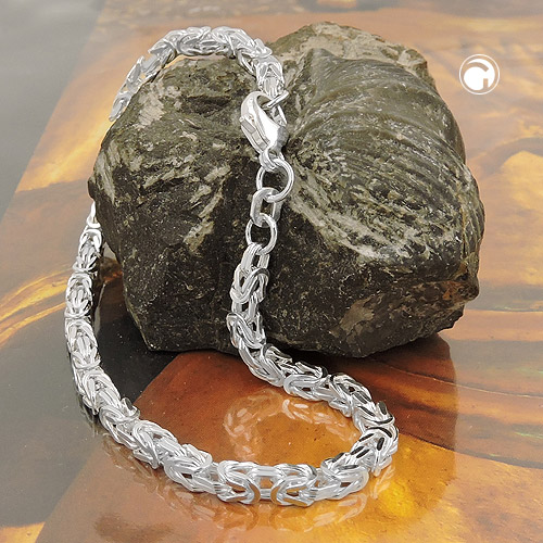 Silver 925: Bracelets and byzantine chains in Sterling Silver 925 (04.12.2018)