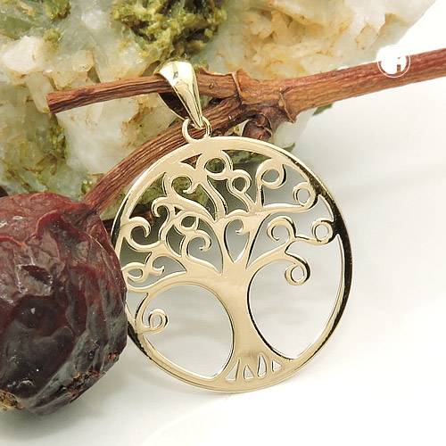 GOLD 9K and silver jewellery 925: earrings and pendants, new articles with tree of life (29.06.2018)